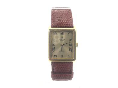 reloj de oro rolex geneve cellini