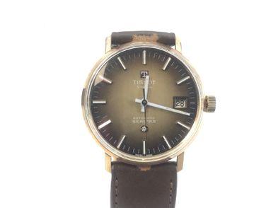 reloj de oro tissot seastar