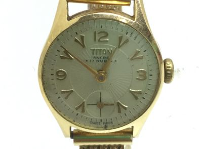 reloj de oro otros ancre 17 rubis