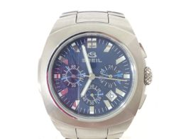 reloj pulsera caballero breil azul y plateado