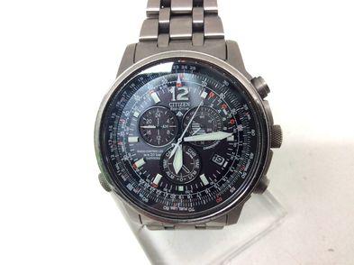 reloj pulsera caballero citizen eco-driver promaster titanium