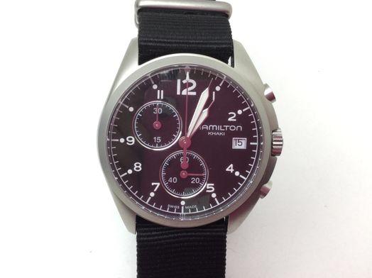 reloj pulsera caballero hamilton h765520
