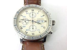 reloj pulsera caballero longines hour angle 1991