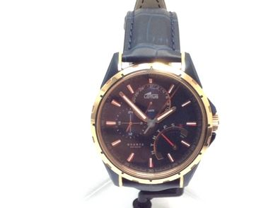 reloj pulsera caballero lotus 18210