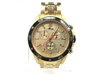 reloj pulsera caballero lotus 18653