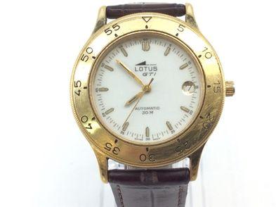 reloj pulsera caballero lotus automatic gti