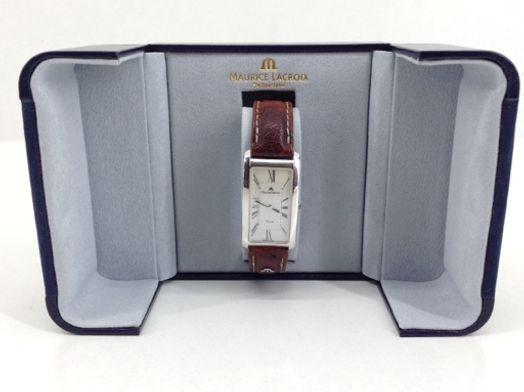 reloj pulsera caballero maurice lacroix 47496