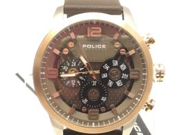 reloj pulsera caballero police 15415j