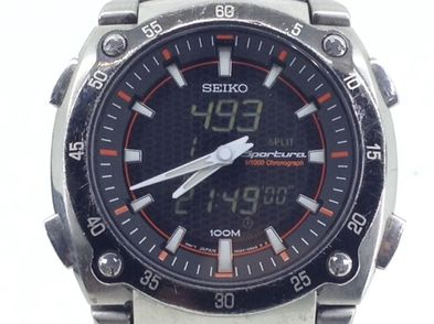 reloj pulsera caballero seiko sportura