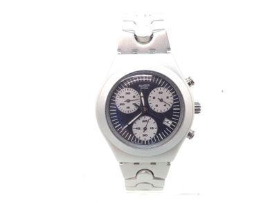 reloj pulsera caballero swatch irony aluminium