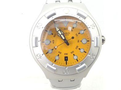 reloj pulsera caballero swatch sclba 200