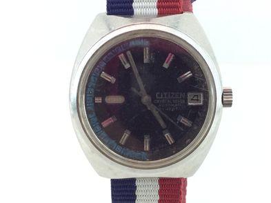 reloj pulsera premium caballero citizen crystal seven