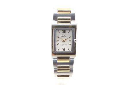 reloj pulsera premium caballero jaguar j-457/1 bicolor 5 micras de oro