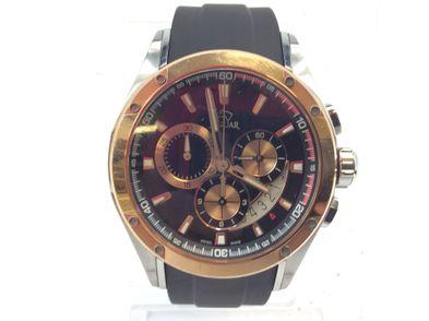 reloj pulsera premium caballero jaguar j689