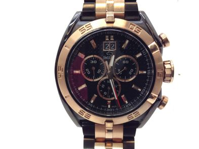 reloj pulsera premium caballero jaguar j811