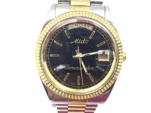 reloj pulsera premium caballero mido 8299 commander
