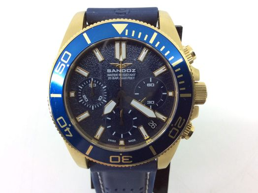 reloj pulsera premium caballero sandoz 81447-0972