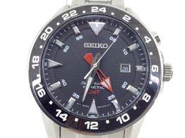 reloj pulsera premium caballero seiko sportura gmt kinetic