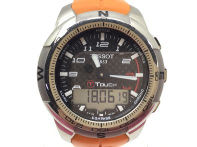 reloj pulsera premium caballero tissot touch ii