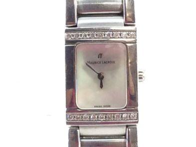 reloj pulsera premium señora maurice lacroix 32838
