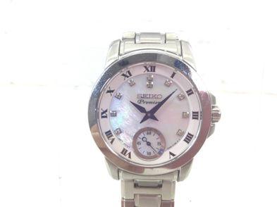 reloj pulsera premium señora seiko nacar premier diamantes