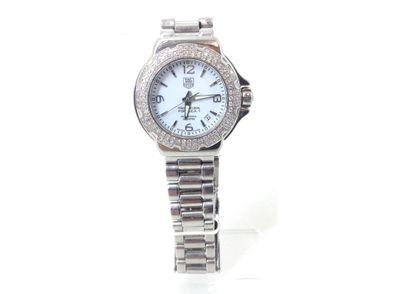 reloj pulsera premium señora tag heuer wac1215-0 con extensor de correa