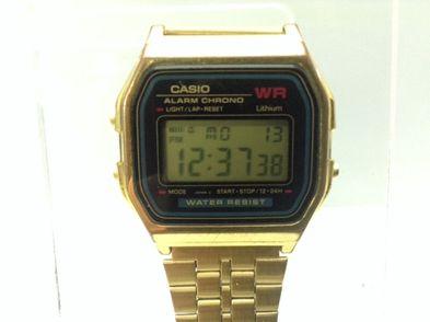 reloj pulsera unisex casio a159wge