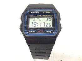 reloj pulsera unisex casio f-91w