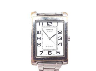reloj pulsera unisex casio mtp-1234