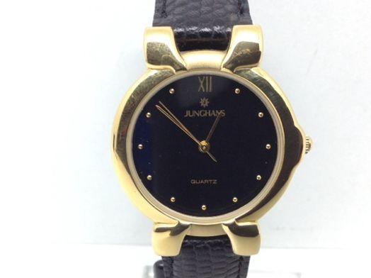 reloj pulsera unisex junghans dorado