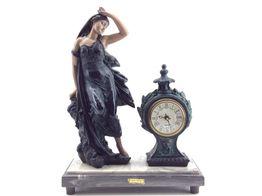 reloj sobremesa otros mujer clasica reloj 35x15x48 cm