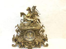 reloj sobremesa sin marca bronce