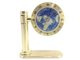reloj sobremesa world time quartz