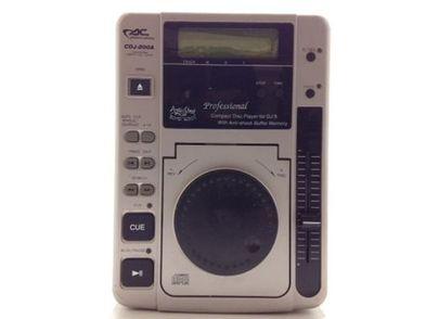 reproductor cd acoustic control cdj-200a