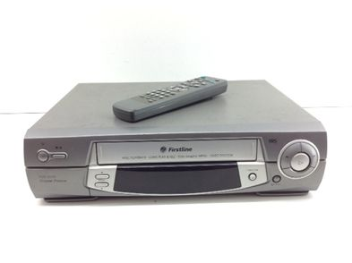 reproductor video vhs firstline vcr-201n