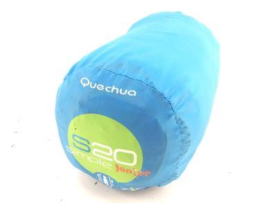 saco dormir quechua azul
