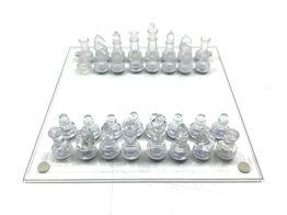 set tablero fichas sin marca glass chess set