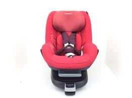 silla para coche bebe actual roja + familyfix