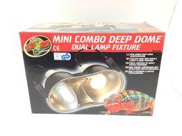 sistema calefaccion zoo med mini combo deep dome dualk lamp fixture