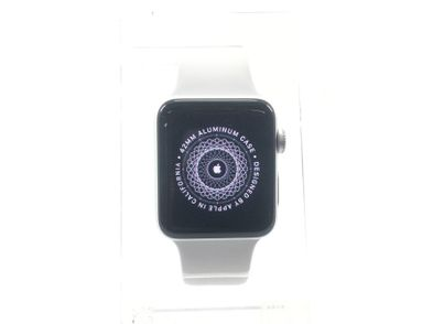 apple watch series 3 42mm (gps 4g) (a1891) acero inoxidable