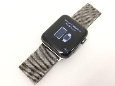 apple apple watch series 2 42mm spgr al black sp model a1758