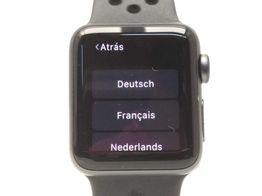 apple watch nike+ series 2 38mm (a1757)