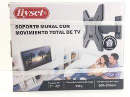 soporte mural tv liyset 17?-42? soporte de pared para tv