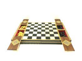tablero ajedrez otros tablero y fichas y madera