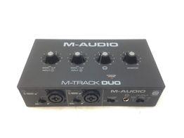 tarjeta sonido m audio m track duo