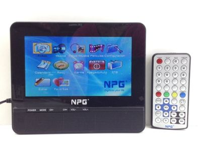 televisor lcd portatil npg no visible