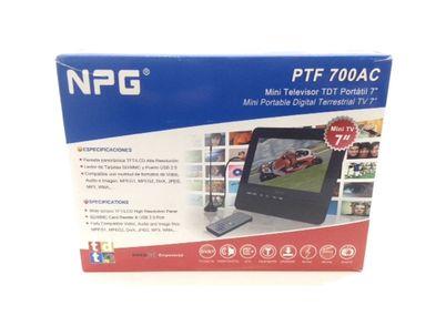 televisor lcd portatil npg ptf 700ac