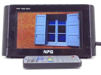 televisor lcd portatil npg ptf700acn