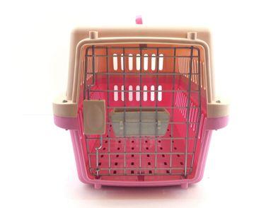 transportin de gatos otros rosa