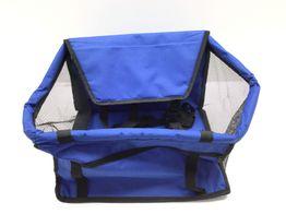 transportin de gatos otros azul
